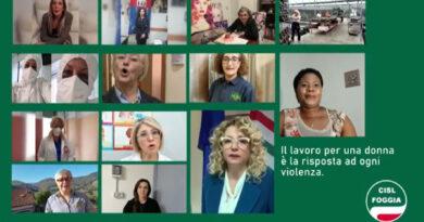 La Cisl territoriale di Foggia contro la violenza sulle donne
