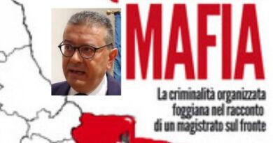 """IL PROCURATORE AGGIUNTO DI FOGGIA DOTT.LARONGA   PRESENTA """"LA QUARTA MAFIA"""""""