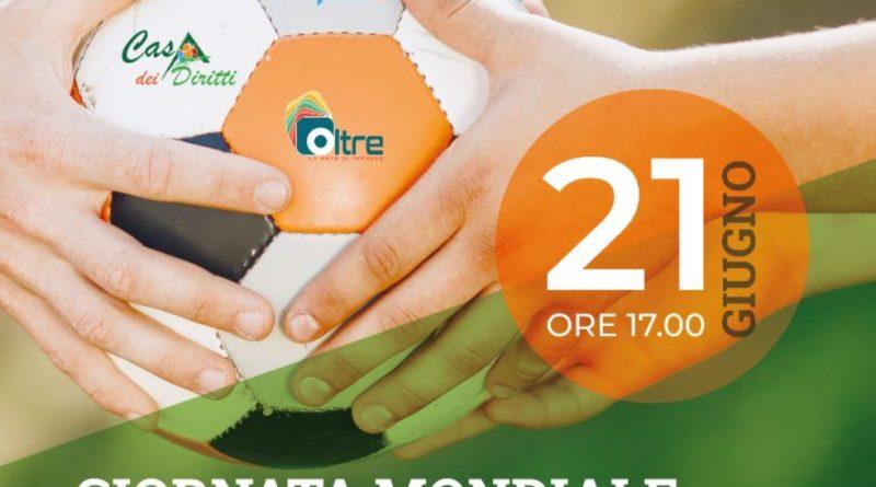 """Manfredonia, un torneo di calcetto per l'integrazione nella """"Giornata Mondiale del Rifugiato"""" Il 21 giugno presso Casa dei Diritti di Siponto l'iniziativa promossa da Medtraining"""